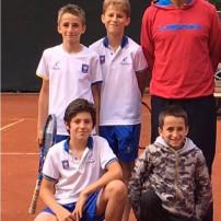 Under 12 del Park Tennis ai Campionati Nazionali di categoria